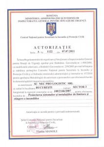 Autorizatie 1122