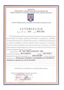 Autorizatie 1129