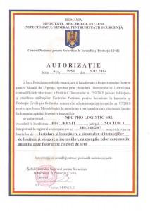 Autorizatie 3950
